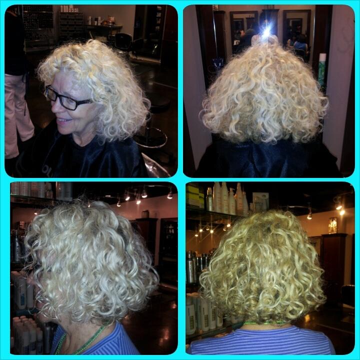 Salon Style- Swavy Curls