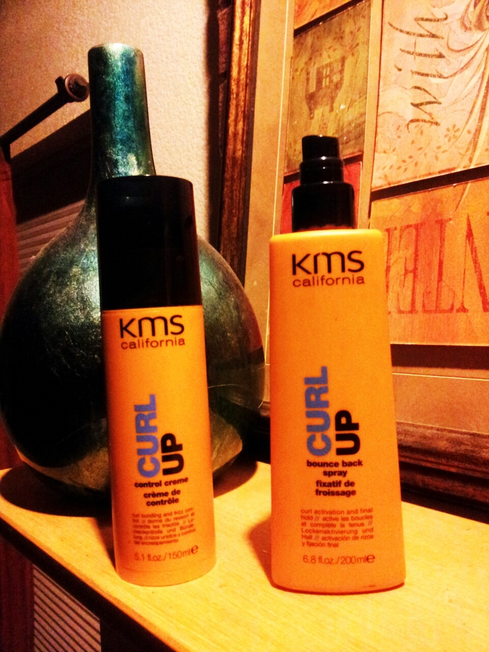 Professional Product Review- KMS Curl Up