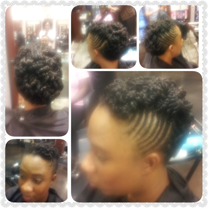 Natural Style Updo